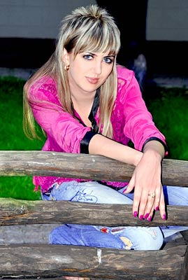 possitive and chic Rusian girl from  Nikolaev