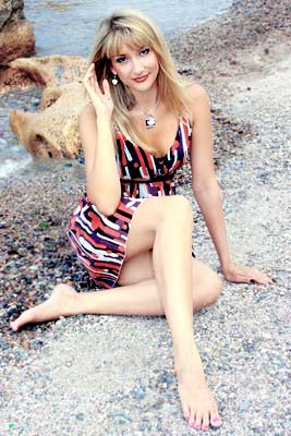 elegant and single Ukrainian woman from  Odessa