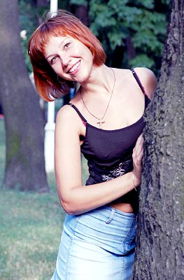 solid, young, well-bred and chic russian woman from  Mariupol