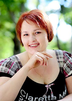 smart, single-minded and beautiful russian woman from  Nikolaev
