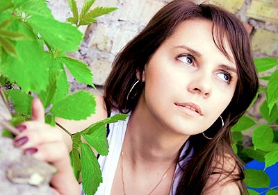 educated, goal-seeking and pretty Ucrainian girl from  Kiev