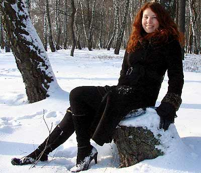 smart, committed and sensual lady from  Chernigov