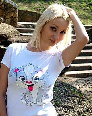smart, purposeful and russian woman from  Odessa