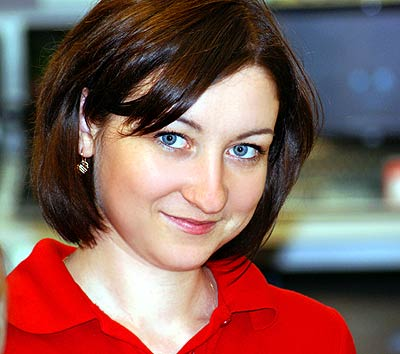 intelligent, committed and sensual Ucrainian woman living in  Kirovograd