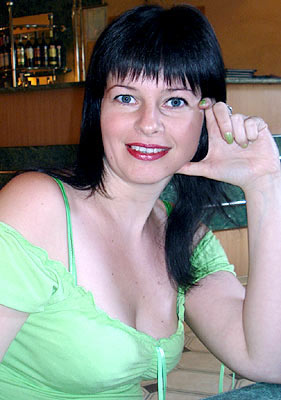 smiling, thoughtful and hot Ukrainian woman from  Kharkov