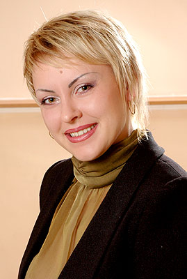 intelligent, dedicated and chic lady from  Nikolaev