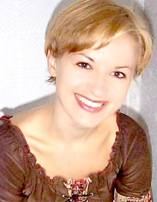 smart, single-minded and chic russian woman from  Gorlovka