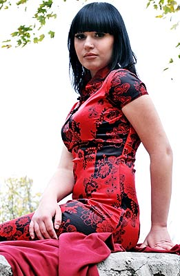 educated, goal-seeking and sexy Ucrainian woman from  Poltava