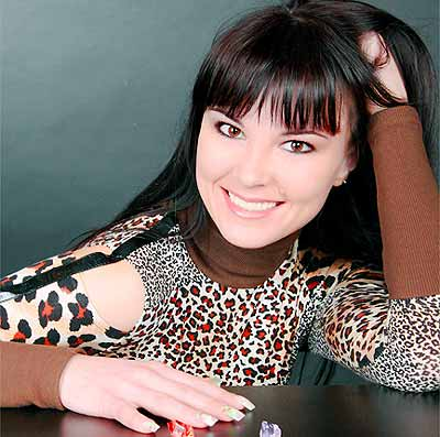 cheerful, possitive and sophisticated Ukrainian woman from  Sumy
