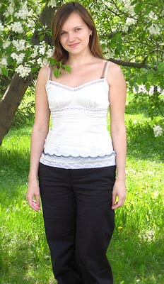 reliable, smiling, calm and girl from  Novosibirsk