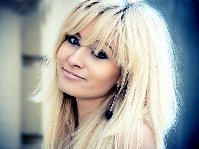 cheerful and gorgeous Ukrainian lady from  Gorlovka