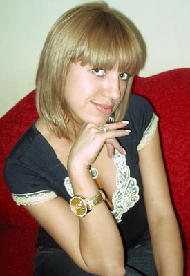 well-educated, single-minded and sensual woman from  Kiev