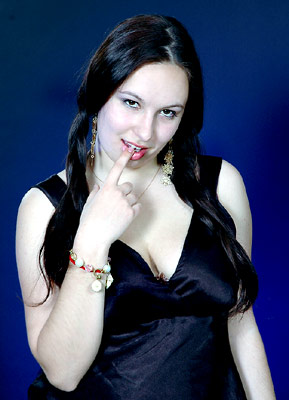 happy, smiling, optimistic and pretty woman from  Nikolaev