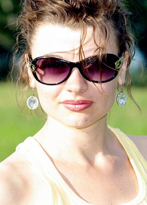 possitive, sociable, young and sensual Rusian woman from  Barnaul