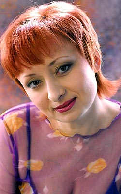 smart, single-minded and chic Ukrainian woman from  Dnepropetrovsk