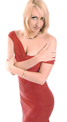 intelligent, single-minded and gorgeous lady from  Kiev