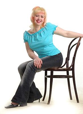 intelligent, purposeful and beautiful woman living in  Kharkov