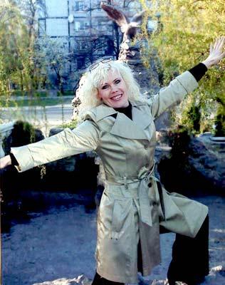 possitive and affectionate Ukrainian lady from  Zaporozhye