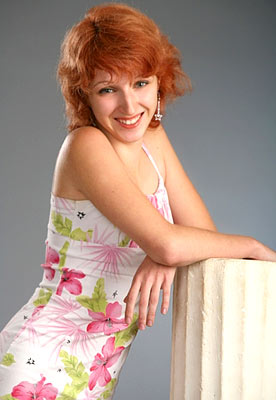 easy-going, tender, reliable and sexy Ucrainian woman from  Kharkov