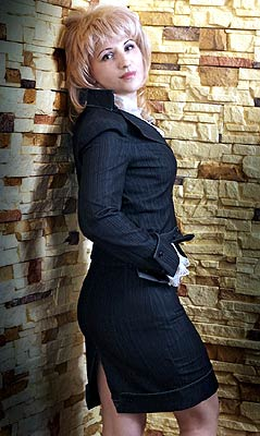 smart, goal-seeking and sophisticated Rusian woman from  Kiev