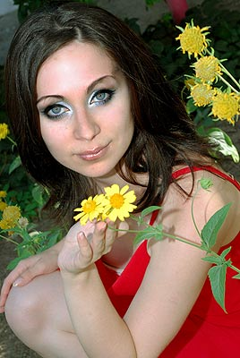 passionate and gorgeous woman from  Melitopol