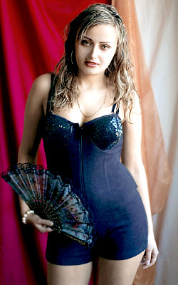 intelligent, single-minded and gorgeous lady from  Kirovograd
