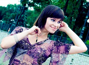 communicative, earnest and sophisticated lady living in  Donetsk
