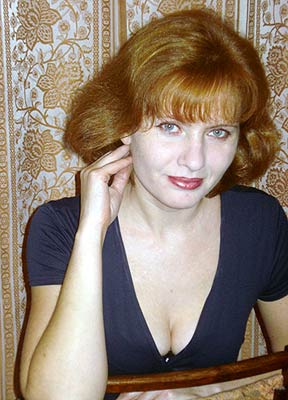 thoughtful, kind, easy-going and beautiful woman from  Poltava
